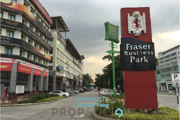 For Rent Office at Fraser Business Park, Sungai Besi Freehold Unfurnished 0R/0B 3.5k