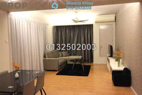 For Sale Condominium at i-Zen Kiara I, Mont Kiara Freehold Semi Furnished 3R/3B 850k