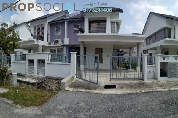 For Sale Terrace at Bandar Puncak Alam, Kuala Selangor Freehold Semi Furnished 4R/3B 500k
