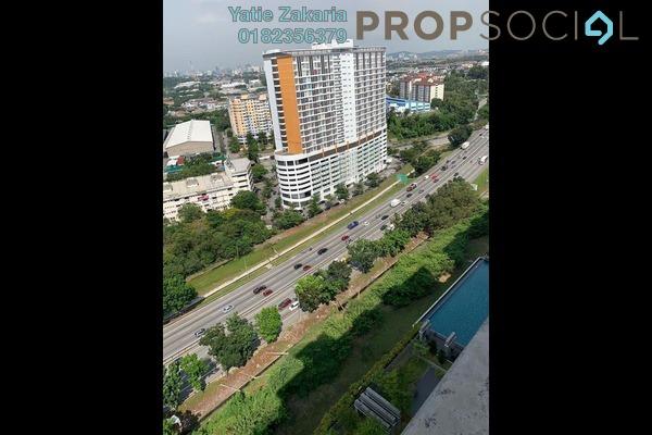 For Sale Condominium at Alam Sanjung, Shah Alam Freehold Semi Furnished 3R/2B 400k