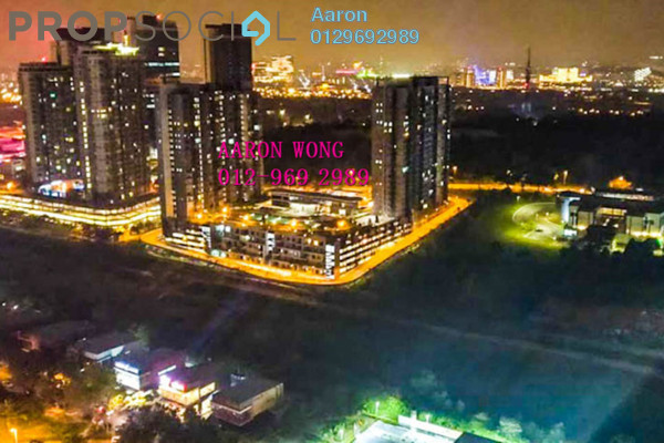For Rent SoHo/Studio at CyberSquare, Cyberjaya Freehold Fully Furnished 1R/1B 1.1k