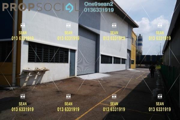 For Rent Factory at Bukit Kemuning Industrial Park, Kota Kemuning Freehold Semi Furnished 0R/0B 14k