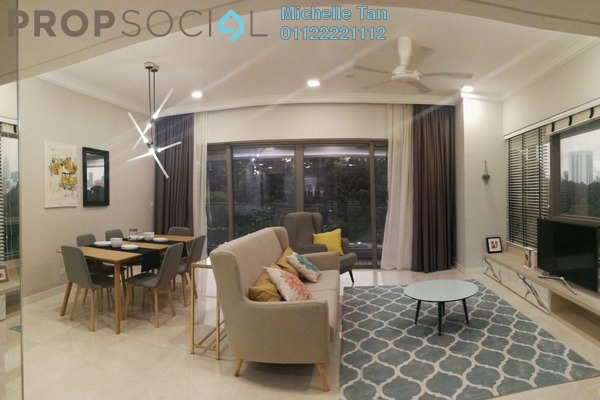 For Rent Serviced Residence at The Sentral Residences, KL Sentral Freehold Fully Furnished 3R/4B 6.5k