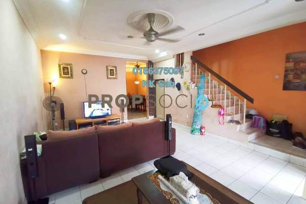 For Sale Terrace at Bandar Putera Klang, Klang Freehold Semi Furnished 4R/3B 380k