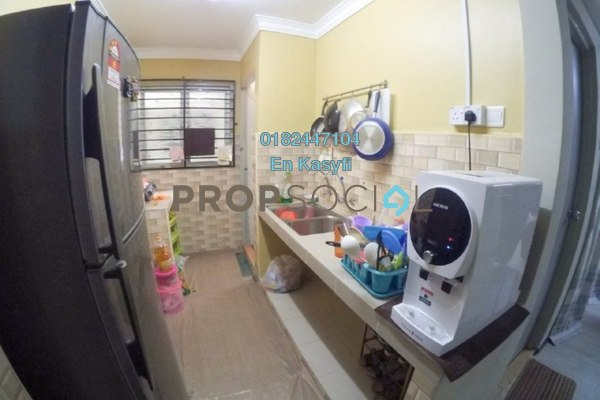 For Sale Apartment at Pangsapuri Sri Malaysia, Sungai Besi Freehold Semi Furnished 3R/2B 185k