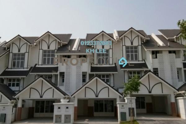 For Sale Superlink at Anjung Sari, Setia Alam Freehold Semi Furnished 6R/5B 830k