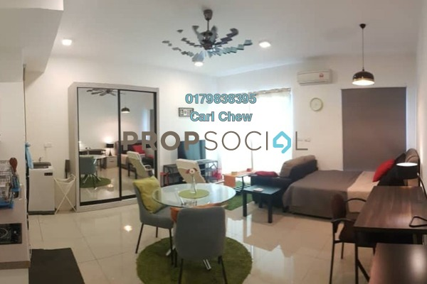 For Rent SoHo/Studio at CyberSquare, Cyberjaya Freehold Fully Furnished 1R/1B 1.3k