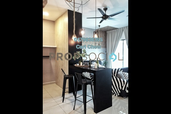 For Rent SoHo/Studio at CyberSquare, Cyberjaya Freehold Fully Furnished 1R/1B 1.5k