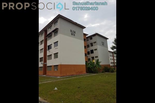 For Sale Apartment at Alam Perdana, Kuala Selangor Freehold Unfurnished 3R/2B 75k