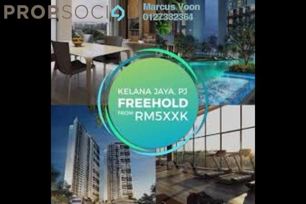 For Sale Condominium at Panorama Residences, Kelana Jaya Freehold Semi Furnished 2R/2B 553k