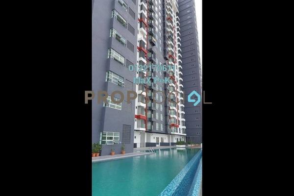 For Rent Condominium at Silk Residence, Bandar Tun Hussein Onn Freehold Semi Furnished 3R/2B 1.24k