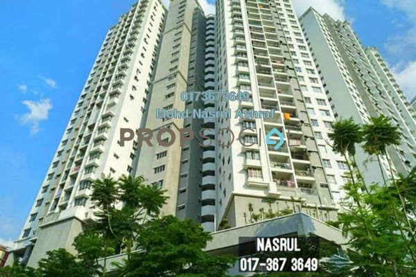 For Rent Condominium at Symphony Heights, Selayang Freehold Semi Furnished 2R/2B 1k