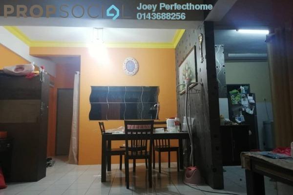 For Sale Condominium at Vistana Mahkota, Bandar Mahkota Cheras Freehold Semi Furnished 3R/2B 288k