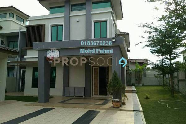 For Sale Semi-Detached at Ivory Villas, Mantin Freehold Semi Furnished 7R/7B 1.2m