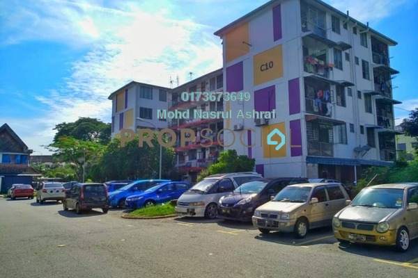 For Sale Apartment at Section 1, Wangsa Maju Freehold Semi Furnished 2R/1B 215k