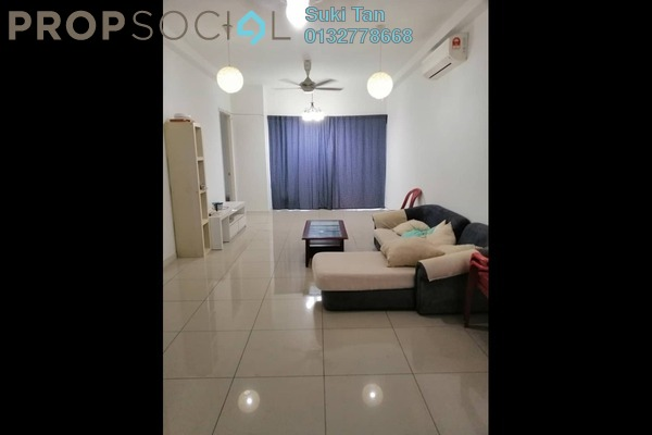 For Rent Serviced Residence at Fortune Perdana Lakeside, Kepong Freehold Semi Furnished 4R/2B 1.8k