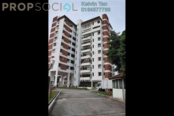 For Sale Apartment at Bangunan Anson, Georgetown Freehold Fully Furnished 3R/2B 680k