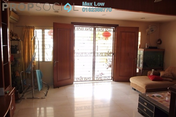 For Sale Link at Taman Megah, Kepong Freehold Semi Furnished 5R/4B 1.18m