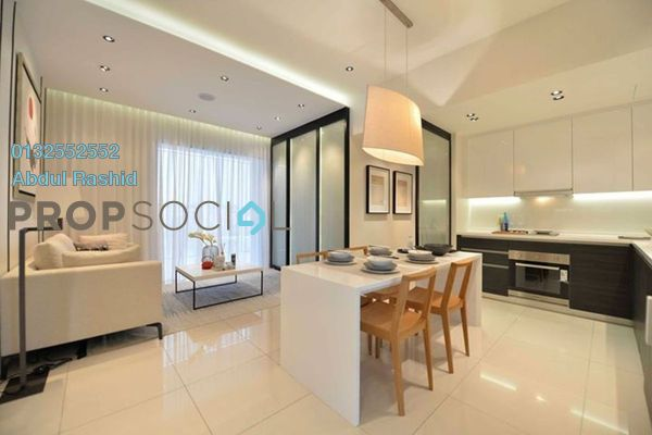 For Sale Condominium at Lexa Residence @ The Quartz, Wangsa Maju Freehold Fully Furnished 2R/2B 350k