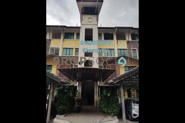 For Rent Townhouse at Lake Valley, Bandar Tun Hussein Onn Freehold Unfurnished 3R/2B 1.3k