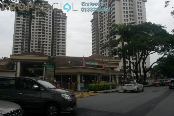 For Rent Condominium at Villa Angsana, Jalan Ipoh Freehold Semi Furnished 3R/2B 1.3k