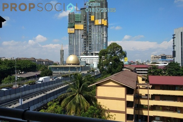 For Sale Apartment at Ixora Apartment, Pudu Freehold Semi Furnished 3R/2B 420k