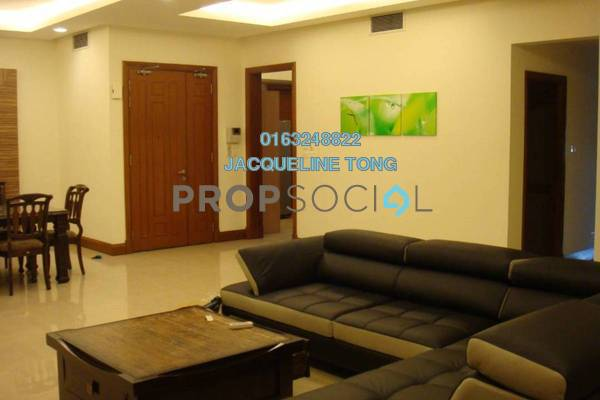 For Rent Condominium at Aman Kiara, Mont Kiara Freehold Fully Furnished 3R/4B 6k