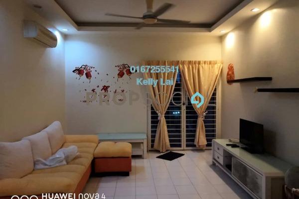 For Rent Condominium at Plaza Menjalara, Bandar Menjalara Freehold Semi Furnished 3R/2B 1.8k