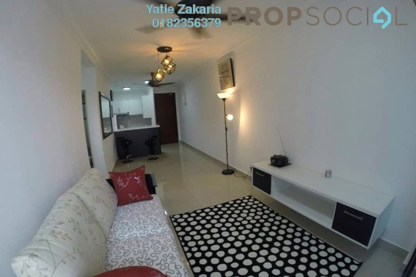 For Sale Condominium at Alam Sanjung, Shah Alam Leasehold Fully Furnished 3R/2B 450k