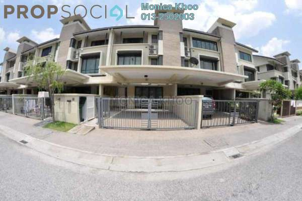 For Sale Terrace at SouthLake, Desa ParkCity Freehold Semi Furnished 3R/4B 1.65m