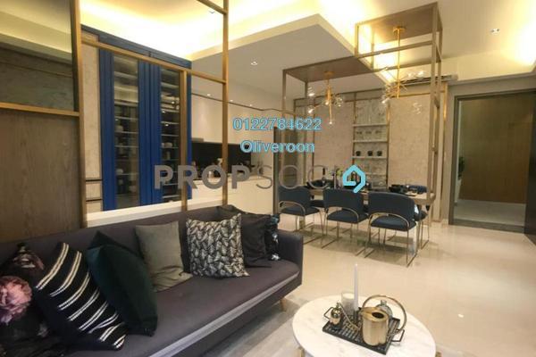 For Sale Serviced Residence at Sentral Suites, KL Sentral Leasehold Semi Furnished 1R/1B 750k