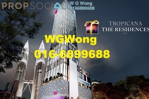 For Rent Serviced Residence at Tropicana The Residences, KLCC Freehold Fully Furnished 1R/1B 4.95k