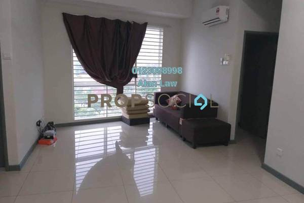 For Rent Condominium at Residensi Gombak 126, Setapak Freehold Semi Furnished 3R/2B 1.6k