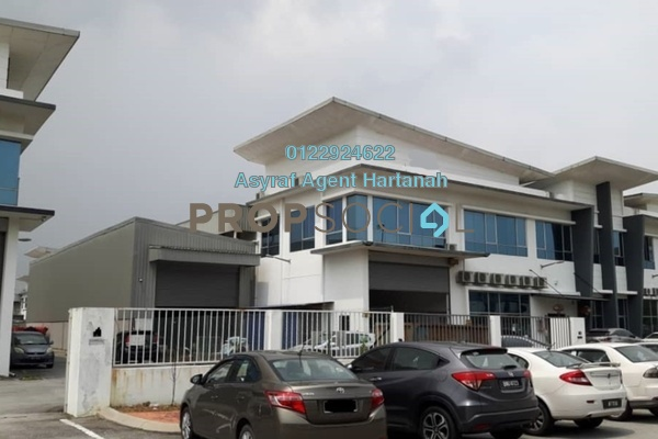 For Sale Factory at Taman Perindustrian Air Hitam, Klang Freehold Semi Furnished 0R/0B 5.3m