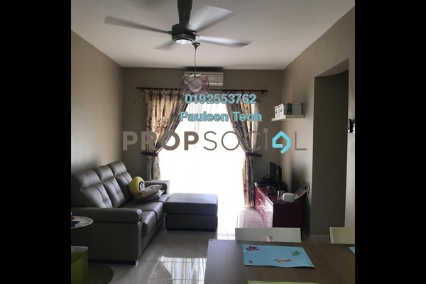 For Sale Condominium at Anggun Puri, Dutamas Freehold Fully Furnished 3R/2B 470k