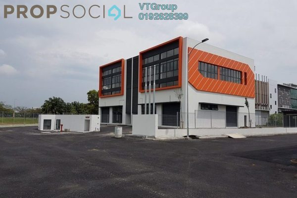 For Rent Factory at Kesas 32 Industrial Park, Shah Alam Freehold Unfurnished 1R/4B 13k
