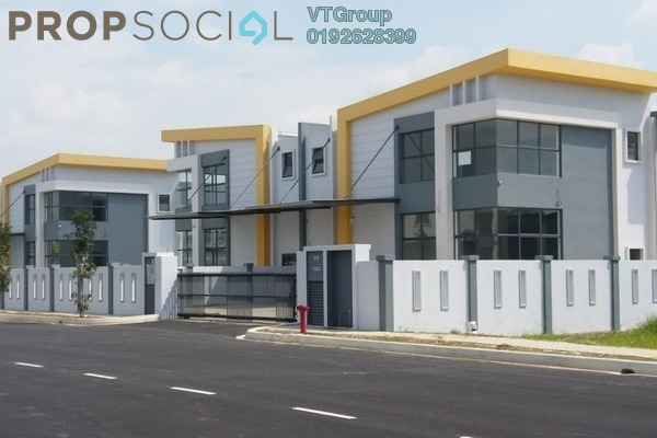 For Sale Factory at Lekas Technology Park, Semenyih Freehold Unfurnished 1R/4B 3.3m