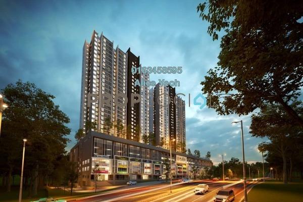 For Sale Serviced Residence at Plaza Kelana Jaya, Kelana Jaya Freehold Unfurnished 2R/1B 364k