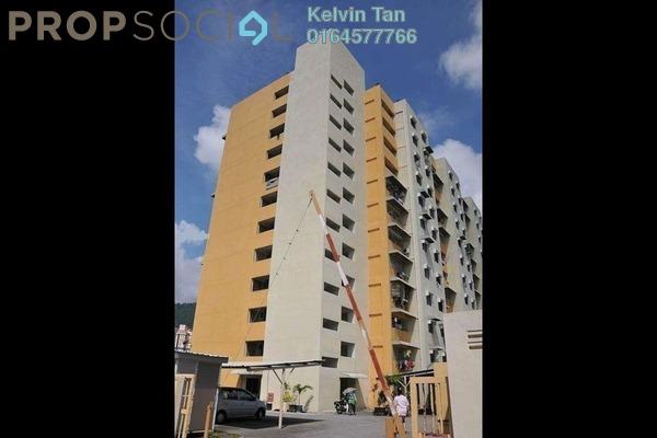 For Rent Apartment at Desa Airmas, Sungai Dua Freehold Unfurnished 2R/2B 600translationmissing:en.pricing.unit