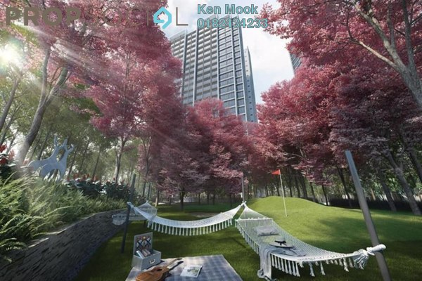 For Sale Condominium at Greenfield Residence, Bandar Sunway Leasehold Semi Furnished 2R/2B 470k