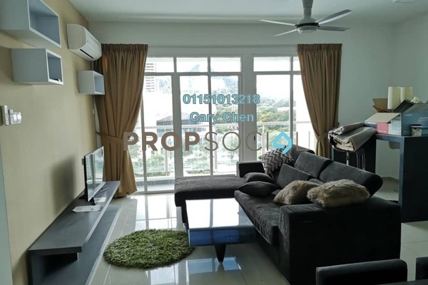 For Rent Condominium at Arena Residence, Bayan Baru Freehold Fully Furnished 4R/2B 2.3k