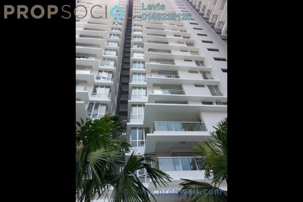 For Rent Condominium at Platinum Hill PV2, Setapak Freehold Semi Furnished 4R/2B 1.9k