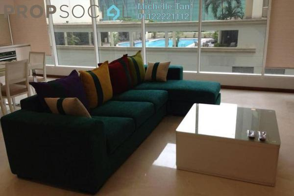 For Rent Condominium at Vipod Suites, KLCC Freehold Fully Furnished 3R/2B 6k