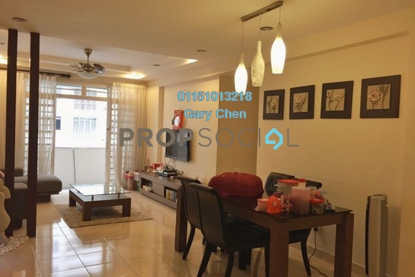 For Rent Condominium at D'Piazza Condominium, Bayan Baru Freehold Fully Furnished 3R/2B 1.7k