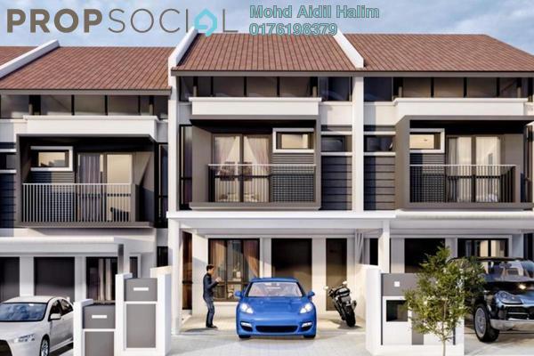 For Sale Terrace at Desa Pinggiran Putra, Putrajaya Freehold Unfurnished 5R/4B 585k