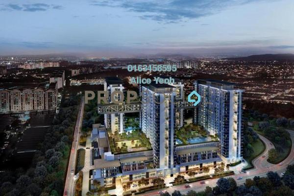 For Sale Serviced Residence at Cantara Residences, Ara Damansara Freehold Semi Furnished 1R/1B 549k