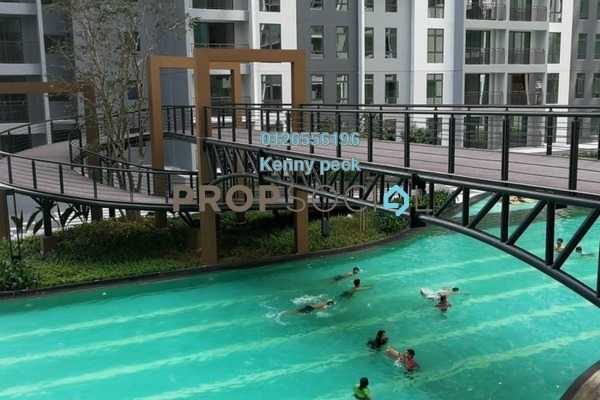 For Sale Condominium at The Henge Residence, Kepong Leasehold Unfurnished 4R/2B 600k