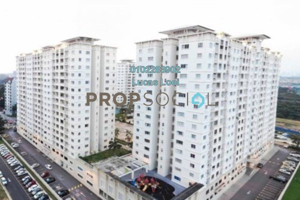 For Sale Condominium at SuriaMas, Bandar Sunway Freehold Fully Furnished 4R/2B 520k
