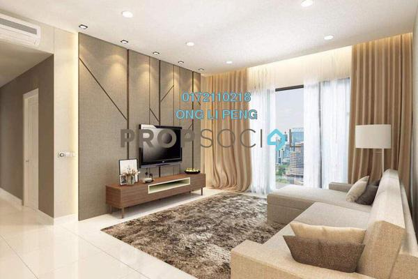 For Sale Condominium at Reflection Residences, Mutiara Damansara Freehold Fully Furnished 3R/2B 1.05m