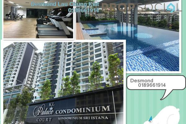 For Rent Condominium at KL Palace Court, Kuchai Lama Freehold Semi Furnished 3R/2B 1.5k